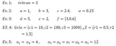 parameter-Examples